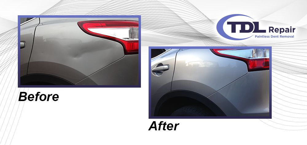 Paintless Dent Removal 2